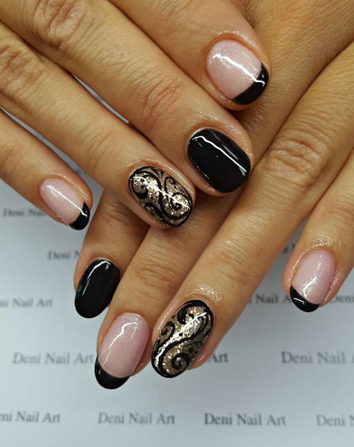 nageldesign winter nailart weihnachten nageldesign weihnachten