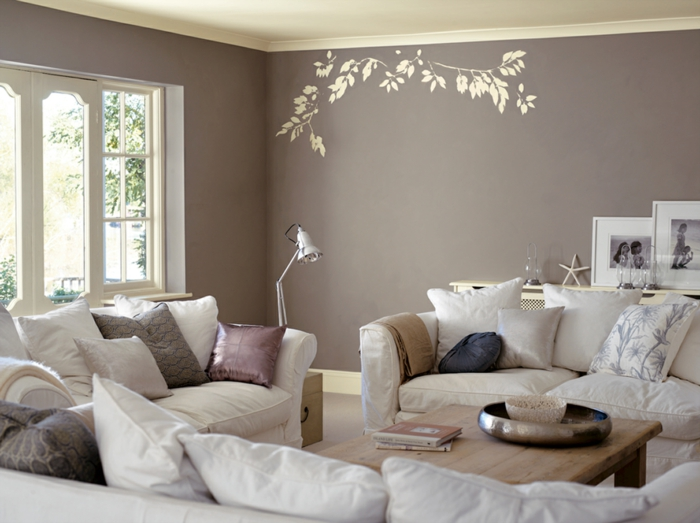 1001 ideen f r taupe farbe im innendesign 45 for Wandfarben ideen