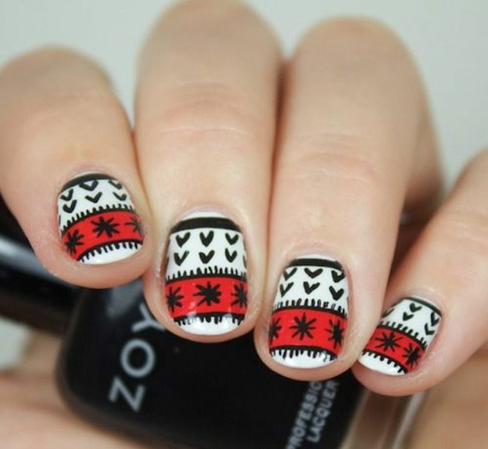 winternageldesign nageldesign weihnachten nageldesign winter