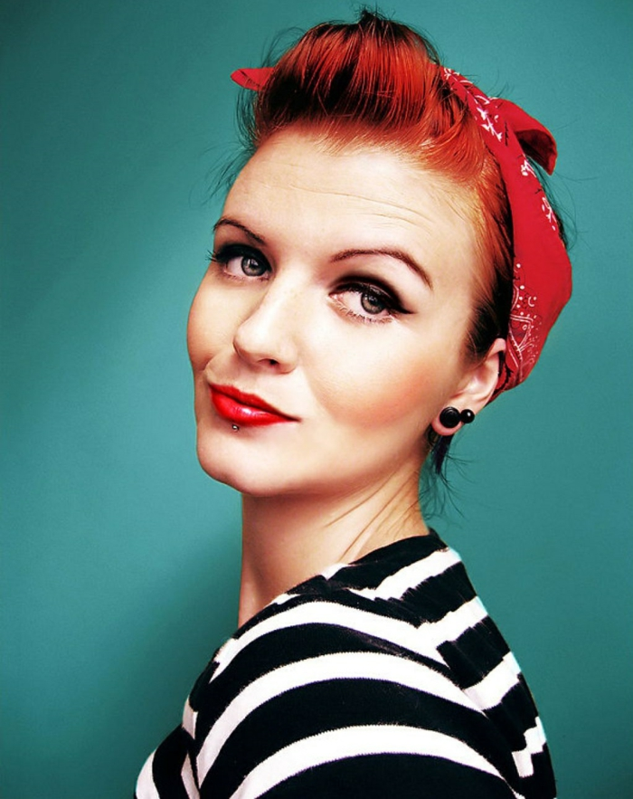 Haarfrisuren rockabilly