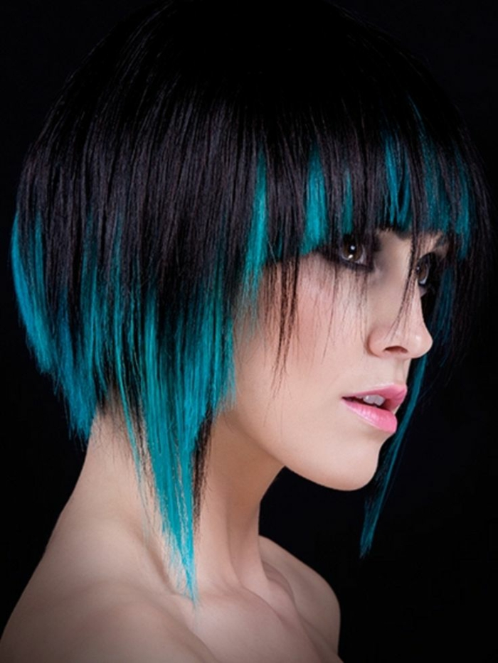 frisurentrends haarfarben trends moderne frisuren