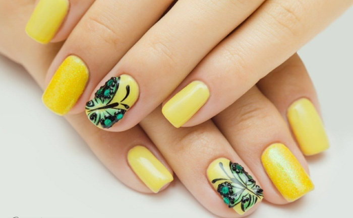 32 nagellack trends f r das jahr 2016 for Nailart muster