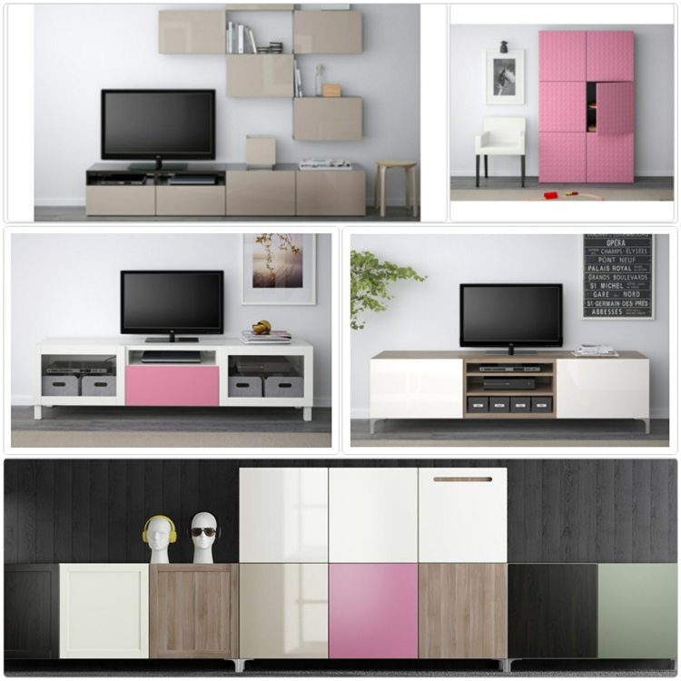 ikea besta einheiten in die inneneinrichtung kreativ. Black Bedroom Furniture Sets. Home Design Ideas