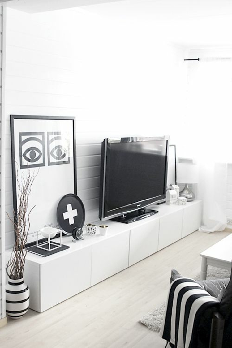 ikea besta einheiten in die inneneinrichtung kreativ integrieren. Black Bedroom Furniture Sets. Home Design Ideas