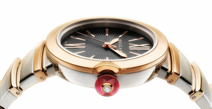 Cabochon Watch With Car Second Hand