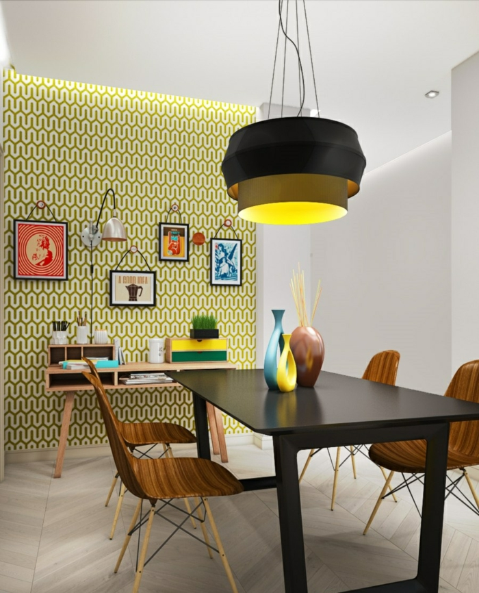 k chendeko 22 tolle ideen f r deko im pop art stil. Black Bedroom Furniture Sets. Home Design Ideas