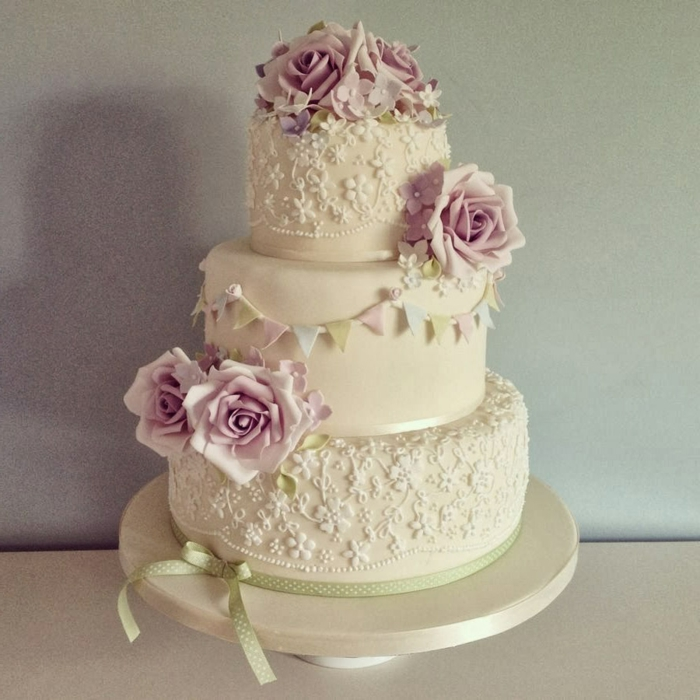 Plain Wedding Cakes Uk