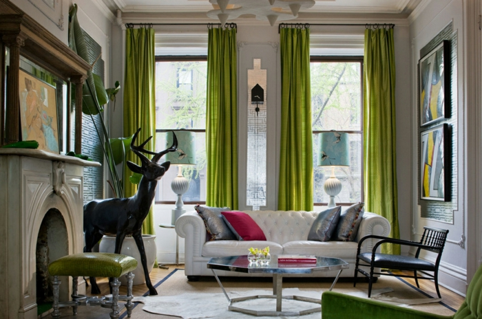 Mint Green Curtains For Living Room