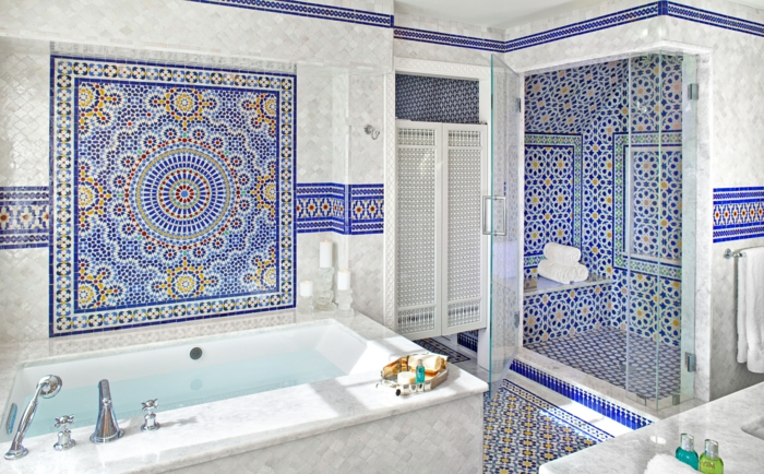 32 badezimmerfliesen ideen als absolute hingucker Different design and colors of tiles