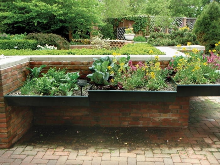 Vegetable Garden Raised Bed Pvc Mellow