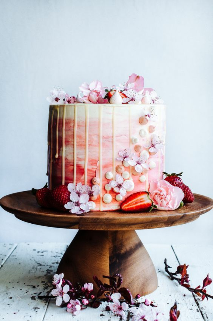 Strawberry Wedding Cake De Jean Pierre