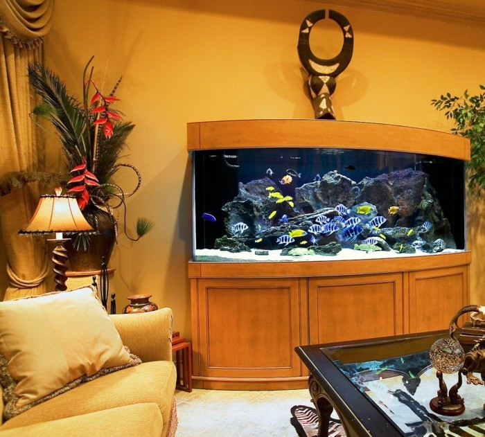 fisch aquarium selber einrichten und dekorieren. Black Bedroom Furniture Sets. Home Design Ideas