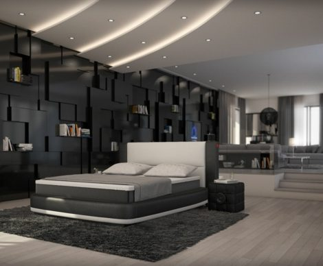boxspringbetten individuell zusammenstellen f r eine moderne schlafzimmereinrichtung. Black Bedroom Furniture Sets. Home Design Ideas
