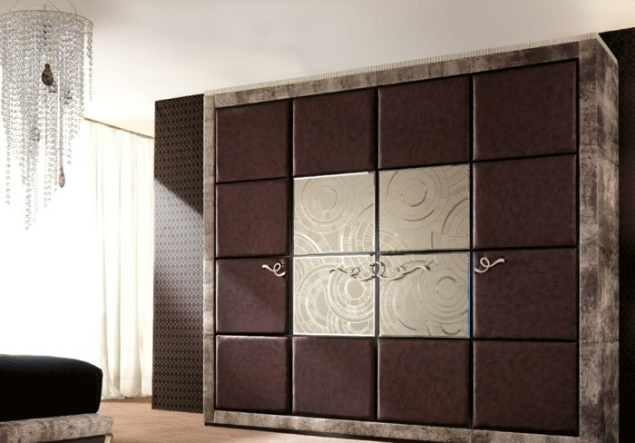 garderobe ideen f r eine sch ne und moderne schlafzimmereinrichtung. Black Bedroom Furniture Sets. Home Design Ideas