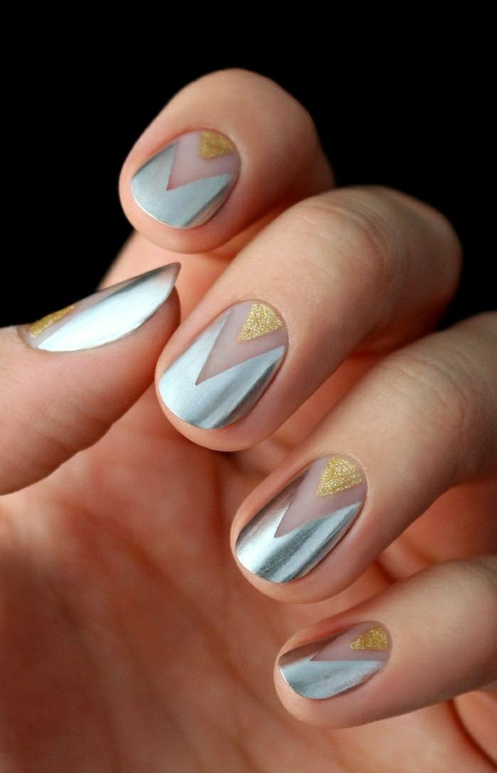 fingernaegel trends nageldesign weihnachten