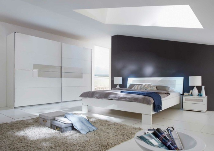 kleines schlafzimmer gestalten wie ein designer. Black Bedroom Furniture Sets. Home Design Ideas