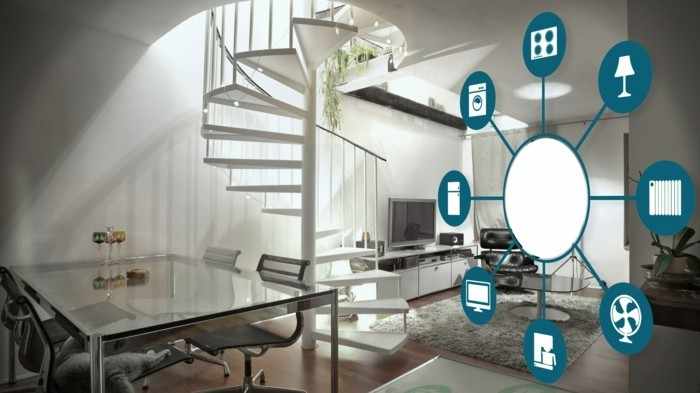 smart home intelligente wohnung