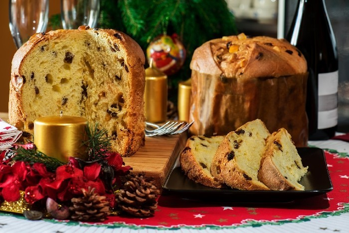 weihnachtsgebaeck panettone advent backen