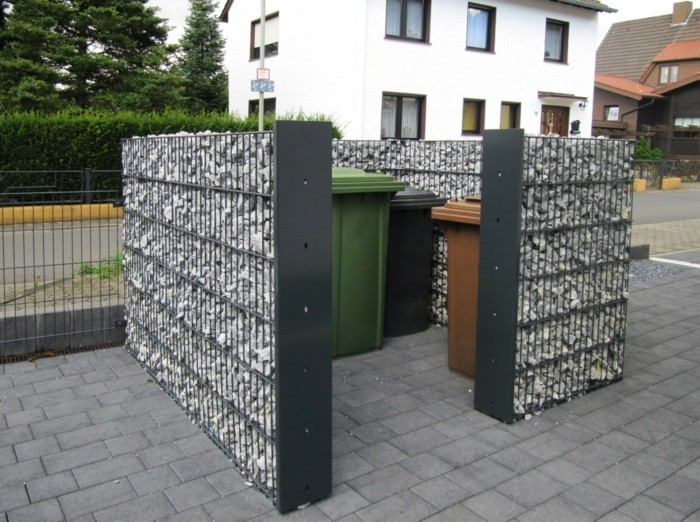 die personalisierte gartengestaltung gabionen. Black Bedroom Furniture Sets. Home Design Ideas