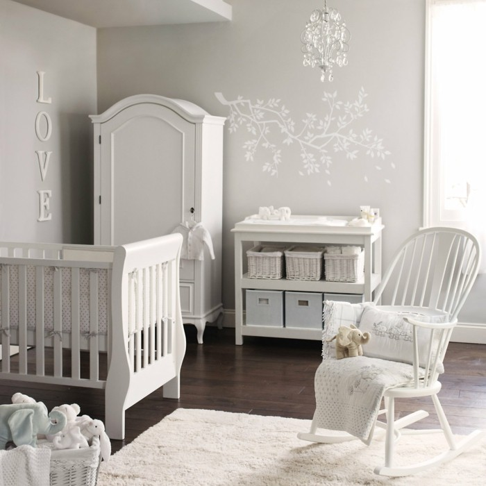 einrichtung babyzimmer. Black Bedroom Furniture Sets. Home Design Ideas