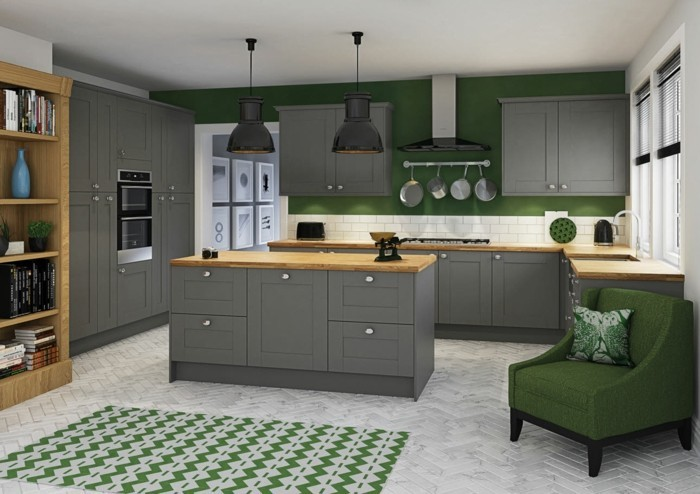 Leighton Shaker Grey Kitchens
