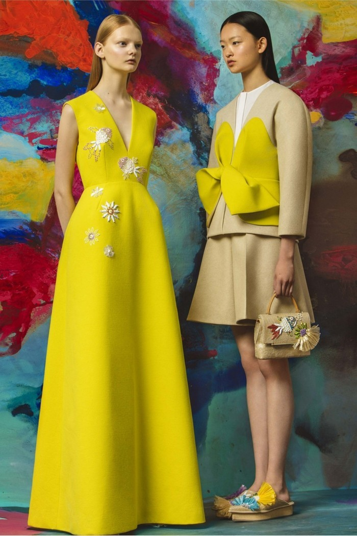 delpozo yellow looks 2017