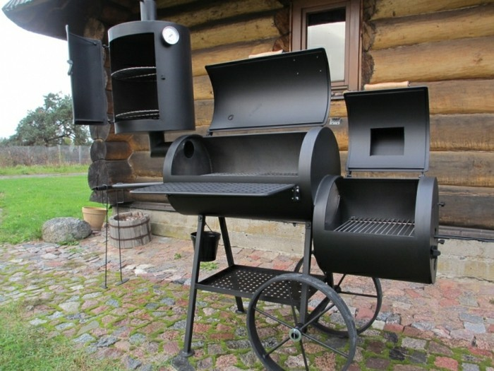 smoker selber bauen die alternative zu gartengrills. Black Bedroom Furniture Sets. Home Design Ideas