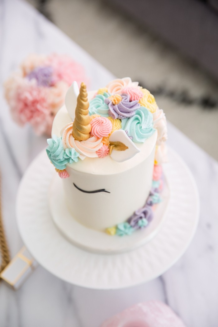 Unicorn Cake Ideas For Girls