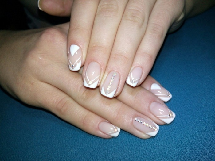 Bride Nails Design