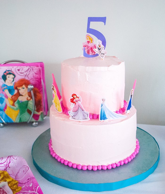 Diy Princess Cake Stand