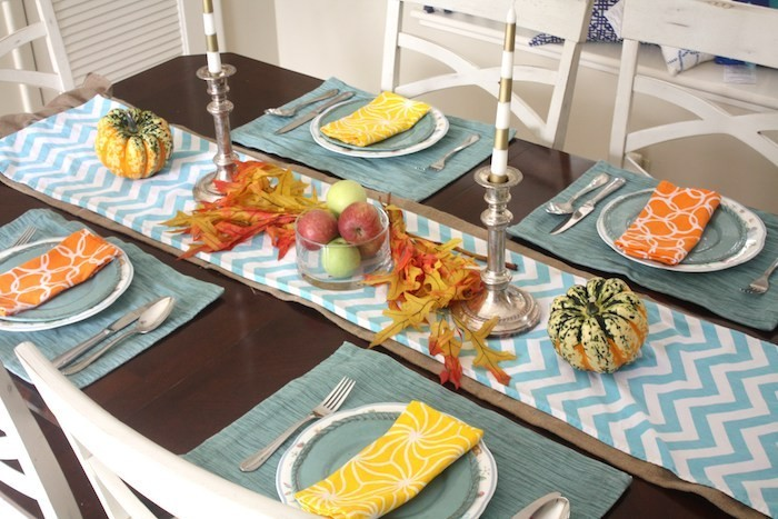 herbst deko idee thanksgiving