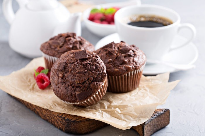 schoko muffins backen