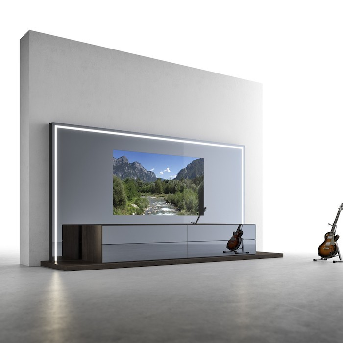 awesome wohnzimmer tv wand images - house design ideas ... - Wohnideen Tv Wand