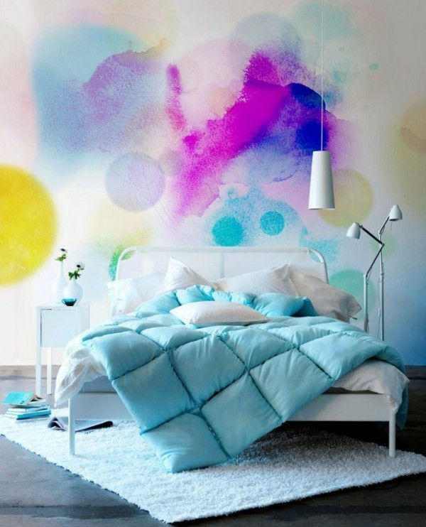 wandfarbe aquarell tolle ideen f r jeden hausbesitzer. Black Bedroom Furniture Sets. Home Design Ideas