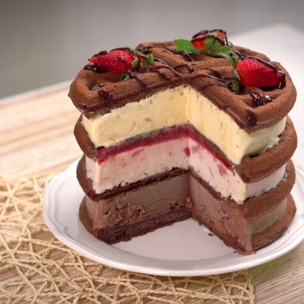 Icecream Sandwich Cake Recipes