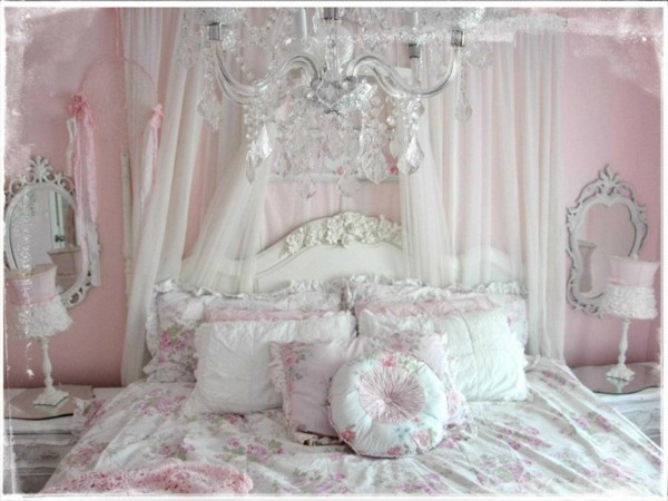 shabby chic bedroom Awesome home decoration for shabby chic bedroom ideas a vintage romantic