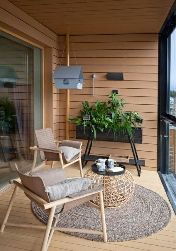50 ideen wie man die kleine terrasse gestalten kann. Black Bedroom Furniture Sets. Home Design Ideas