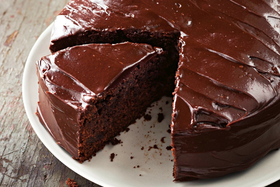 Bake Chocolate Cake With Suet