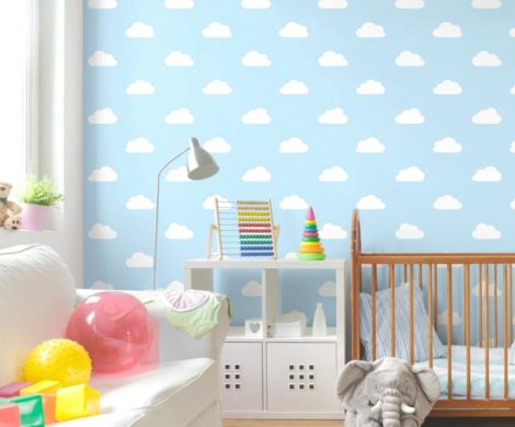 kinderzimmer deko mit wolken 5 tipps und 30 beispiele. Black Bedroom Furniture Sets. Home Design Ideas