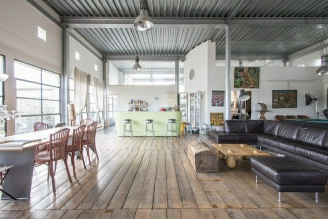 loft tolles holzdesign