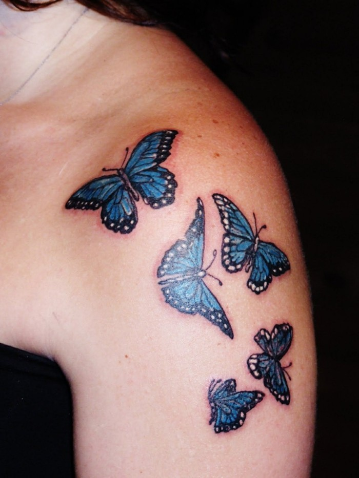schmetterling tattoo oberarm tattoo