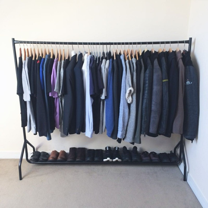 clothes rack room tumblr Home Remodeling Upholstery