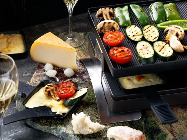 Raclette Ideen grill