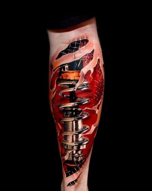 Biomechanik Tattoo autoteile