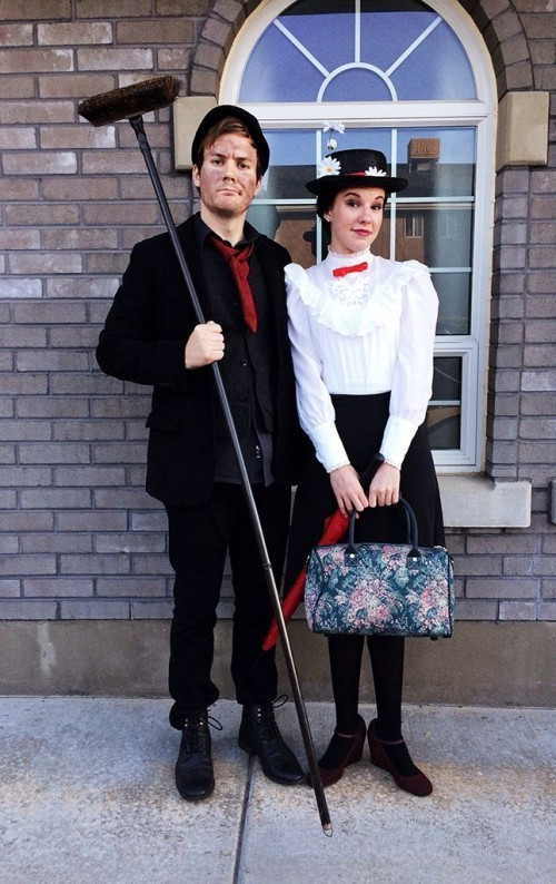 Halloween Partnerkostüme mary poppins bert