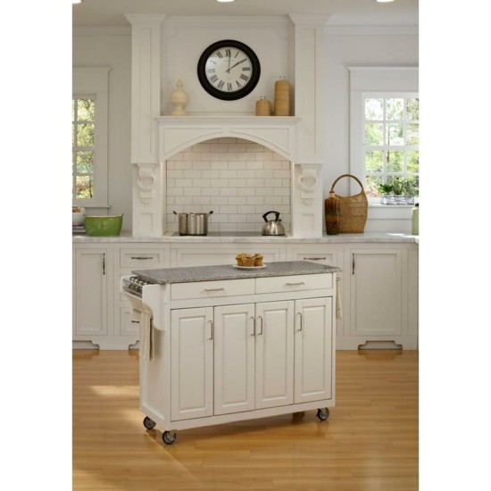 Kitchen Island Moveable Bench