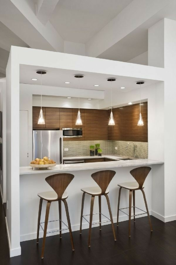american kitchen and bar 22 Beautiful Kitchen Design For Loft Apartment Pinterest