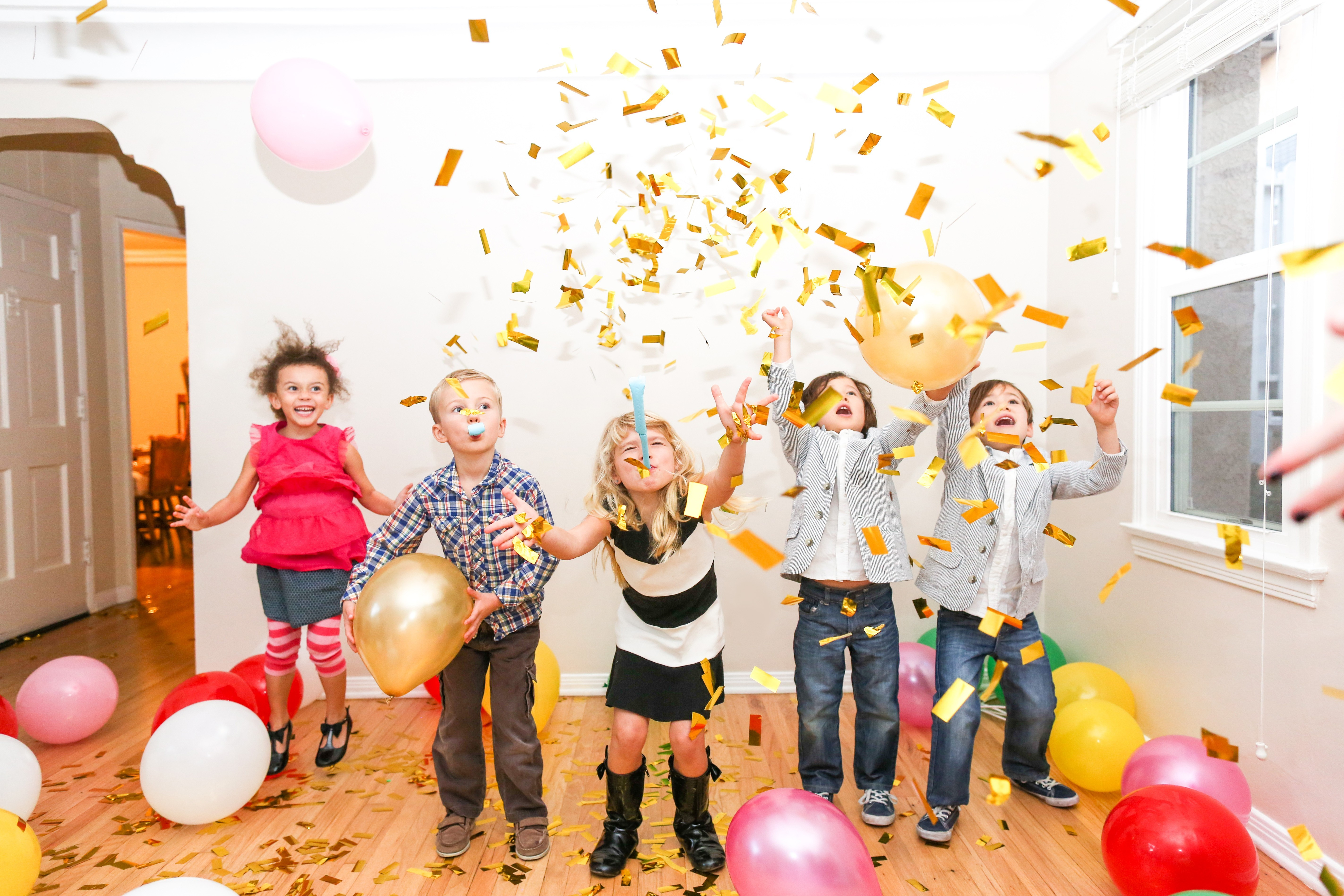 silvseterfeier kinderparty silvester party
