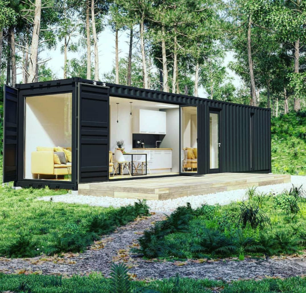 50 ideen f r das perfekte containerhaus. Black Bedroom Furniture Sets. Home Design Ideas