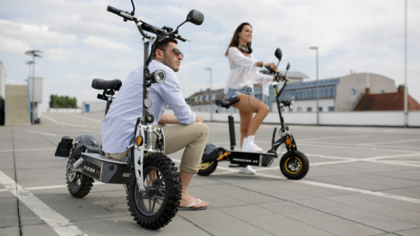 Unsere Favoriten im Elektroroller Test e flux vision x2 scooter